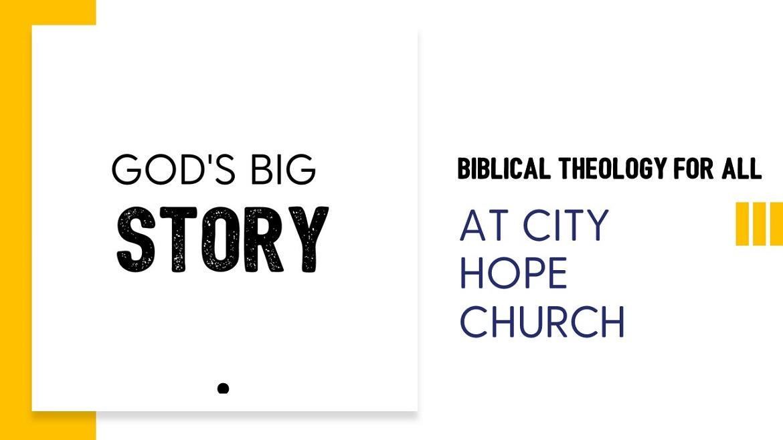 God's Big Story course